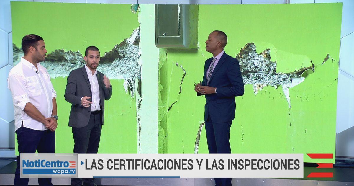 ¿Qué significa la certificación e inspección de estructuras?